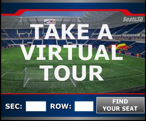 Virtual Red Bull Arena Seat Views Now Online