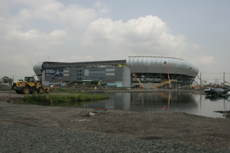 Red Bull Arena from Harrison