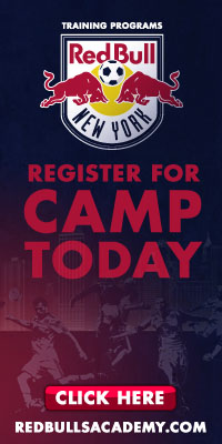 New York Red Bulls Academy Training Program Camps